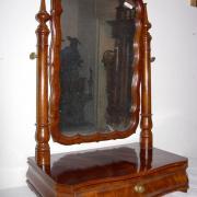 Schminkspiegel Mahagoni um 1860 eine Schublade restauriert 45 b 30 t 63 h 280 €