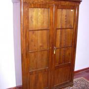 Bücherschrank Biedermeier Mahagoni um 1840 Orginalzustand 110 b 42 t 170 h 1600 €